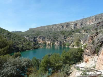 Sierra de Enmedio - Río Guadiela;equipo de senderismo equipo senderismo senderismo por la sierra de